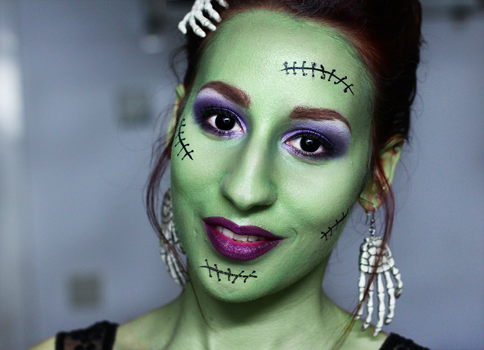 Halloween Look Frankenstein Lady