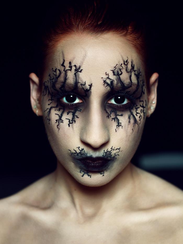 Halloween look 2015 Rauschgiftengel