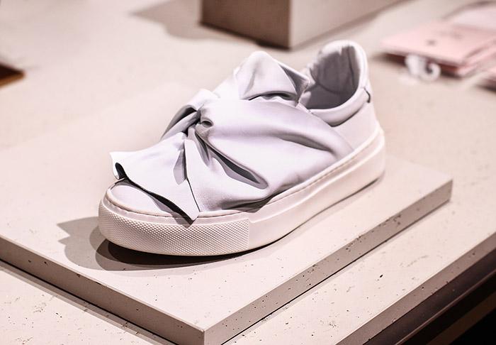BRONX Sneaker mit Schleife