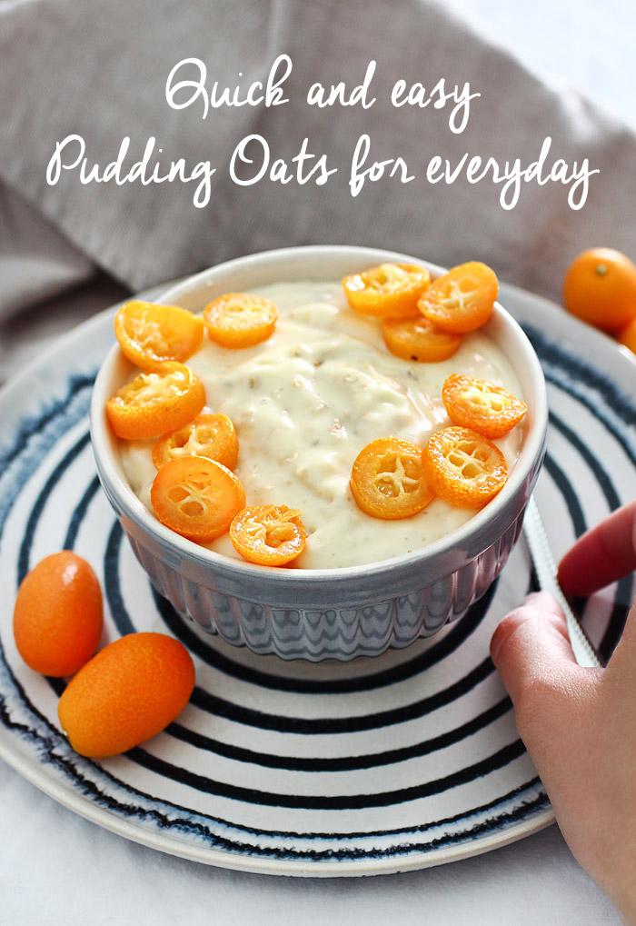 Schnelles Rezept Pudding Oats