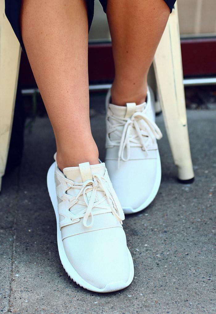 Outfit Adidas Tubular white